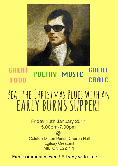 Early Burns Supper