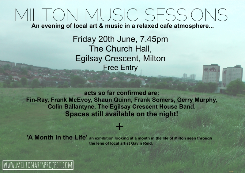 Music Sessions Poster June14