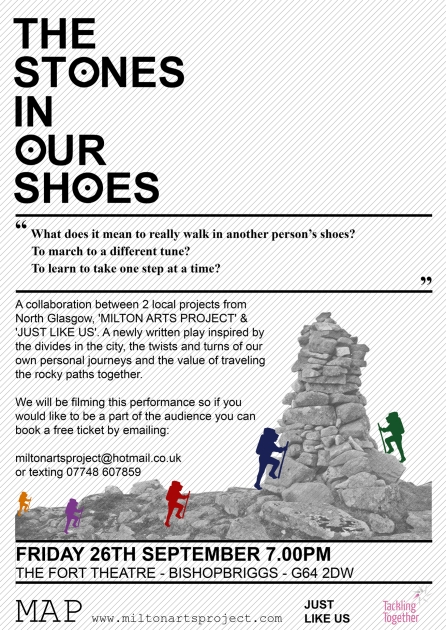 The Stones in Our Shoes Poster Sept 26th