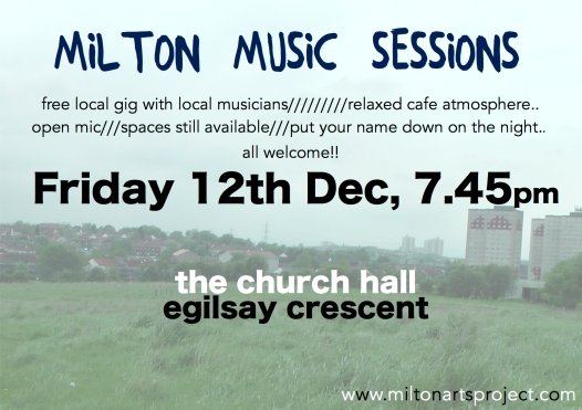 Music Sessions Dec 14 Poster c