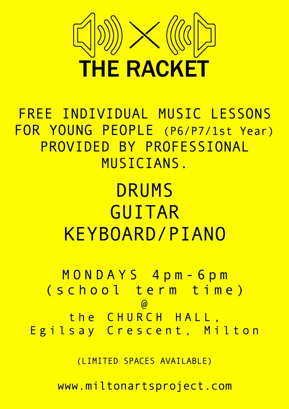 Racket Poster Oct 2017