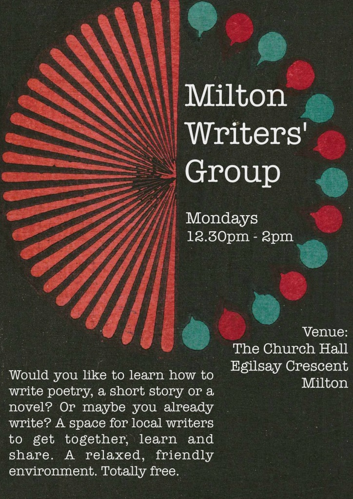 Milton Writers Group Poster